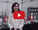 Aira Lesiņa, porcelāna māksliniece video