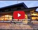 Aitiņlauvas, viesu nams video
