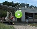 Čaika Blue, restorāns video