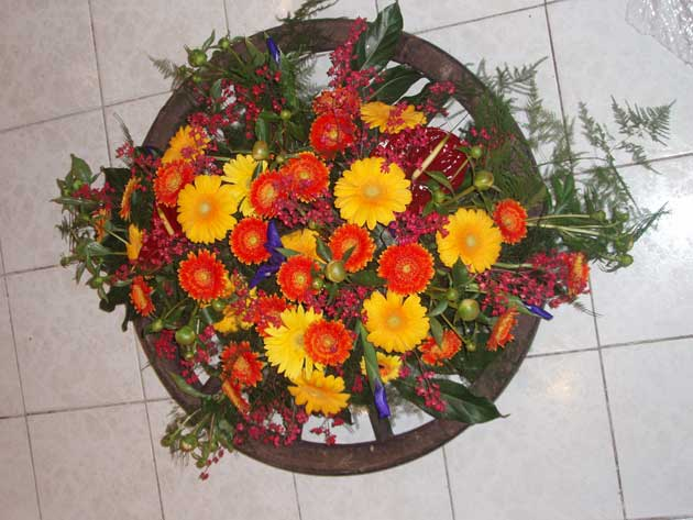 Floristry flower design