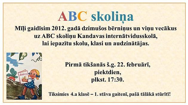ABC skoliņa KIVS