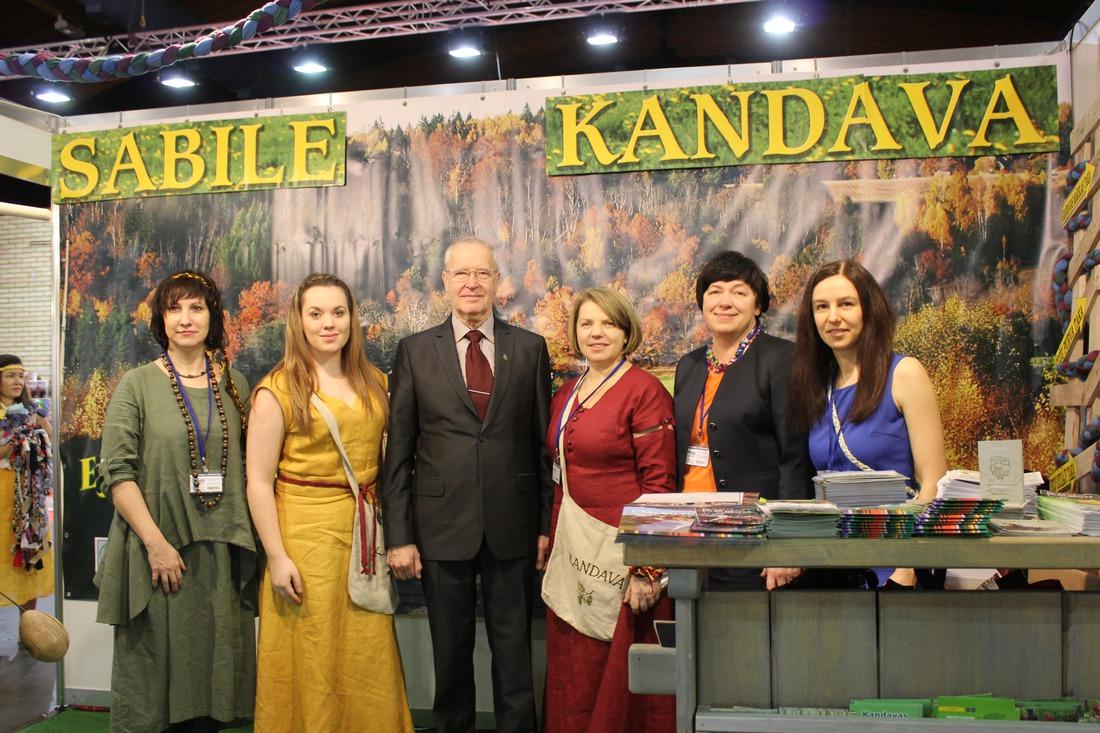 Kandavas novads kopā ar Sabili izstādē