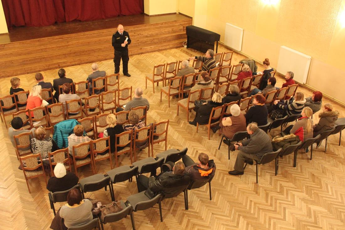 Iedzīvotāju sapulce Vānē