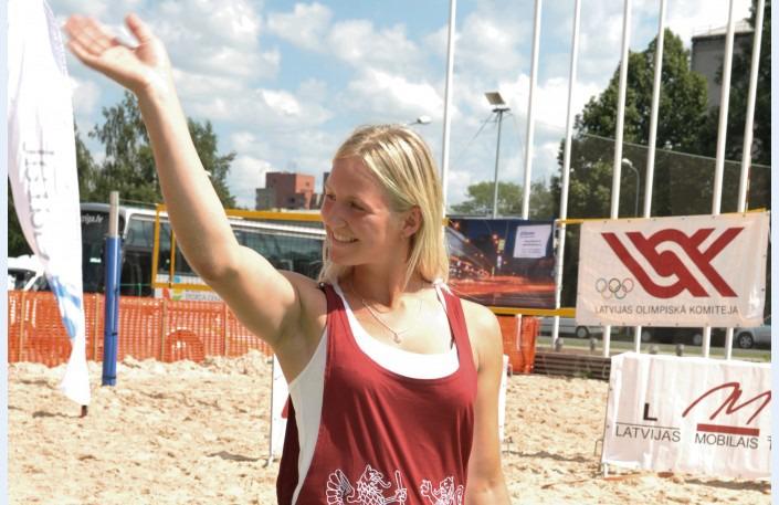 Novadniece Elza Gulbe izcīnīja 2.vietu Eiropas čempionātā akadēmiskajā airēšanāFoto: LETA