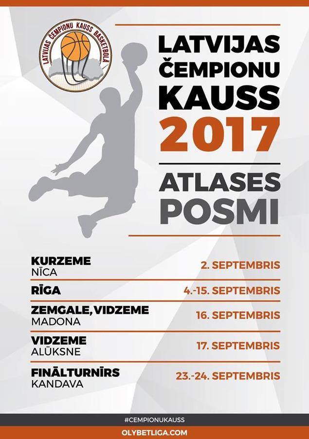 Latvijas čempionu kauss basketbolā fināls Kandavā