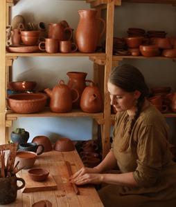 Kandavas keramikas ceplis, darbnīca - salons