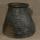 Lielā vāze. Augstums 25, diametrs 13.Svēpētā keramika, slāpētā keramika, melnā keramika, roku darbs, hand made, craftman, ceramica, food fired, Latvia, Kandavas keramikas ceplis