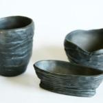 Trauku komplekts.Keramikas bļoda