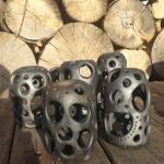 Svečturi. Paredzēti mazajām tējas svecītēm un ēteriskajām eļļām.#pottery #ceramic #woodfired #travel #workshop#art #keramika