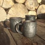 Lielās krūzes.#pottery #ceramic #woodfired #travel #workshop#art #keramika