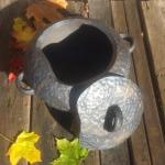 sautējamais trauks terīne #pottery #ceramic #woodfired #travel #workshop#art #keramika