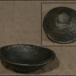 Bļoda. Augstums 8, diametrs 26.Keramikas bļoda