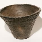 Puķu pods. Augstums 18 cm, diametrs 29cm.Keramikas bļoda