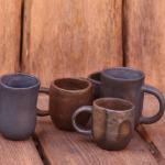 kandavas keramikas ceplis keramika krūzes krūzītessvēpētā slāpētā keramika