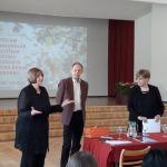 Žūrija ļoti pozitīvi vērtēja audzēkņu sniegumu.Anna Jansone - Kultūras ministrijas pārstāve, režisore, Māris Andersons- kino un teātra aktieris,Dace Jurka - VISC vecākā referente.<br>
