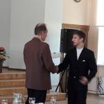 Saņem II.pakāpes Diplomu