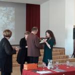Zara Suhovskaja saņem I.pakāpes Diplomu.