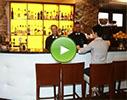 Melnie mūki, restorāns video