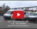 Montāžnieks DE, SIA video