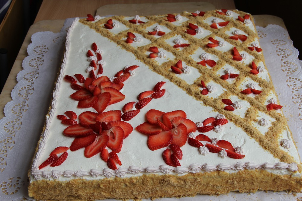 Paldies gardās tortes autorei Rutai!