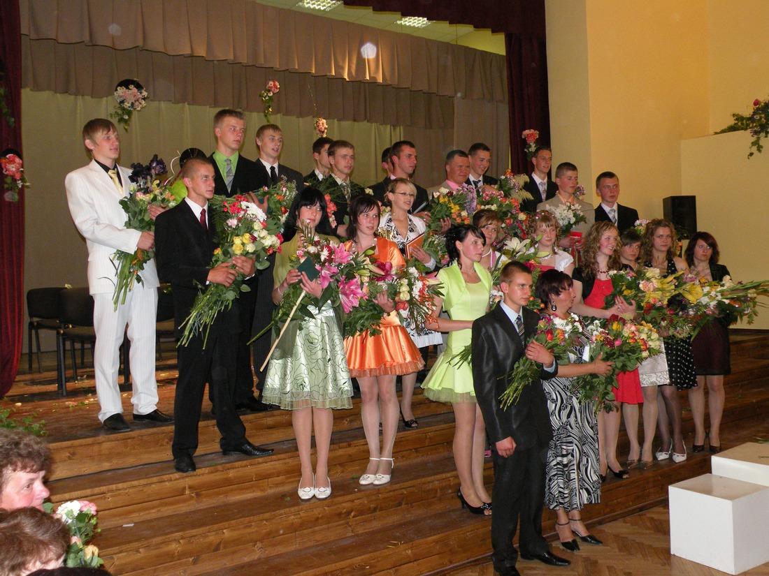 Vānes skolas izlaidums 2009