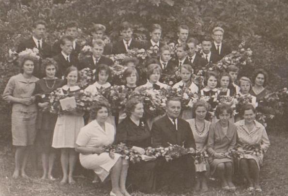 Vānes skolas izlaidums 1965