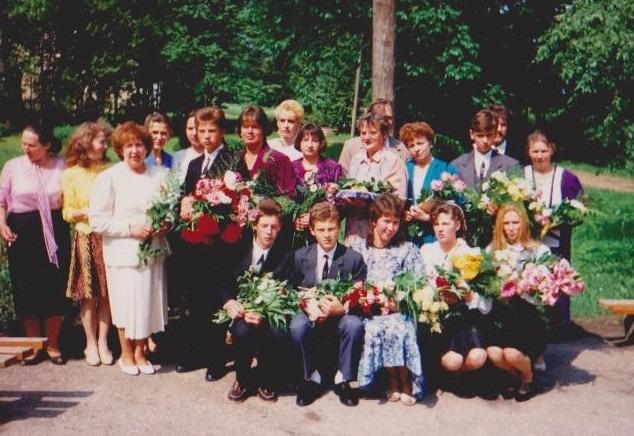 Vānes skolas izlaidums 1995
