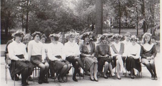 Vānes skolas izlaidums 1994