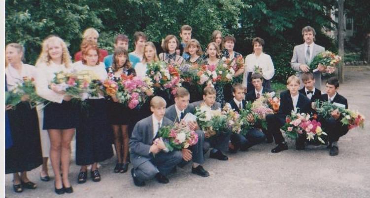 Vānes skolas izlaidums 1998