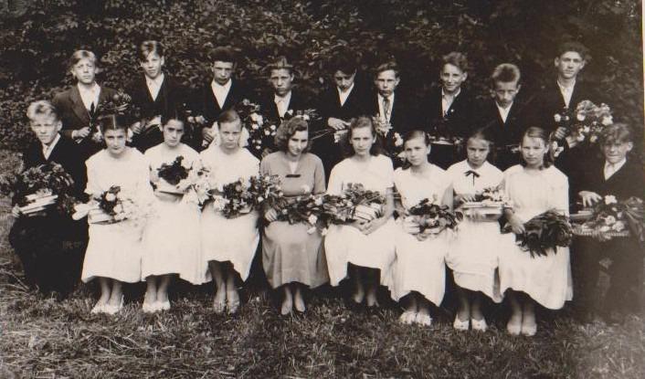 Vānes skolas izlaidums 1961