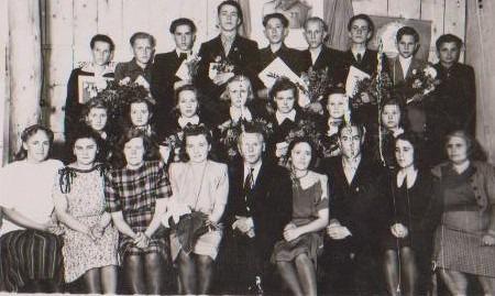 Vānes skolas izlaidums 1949
