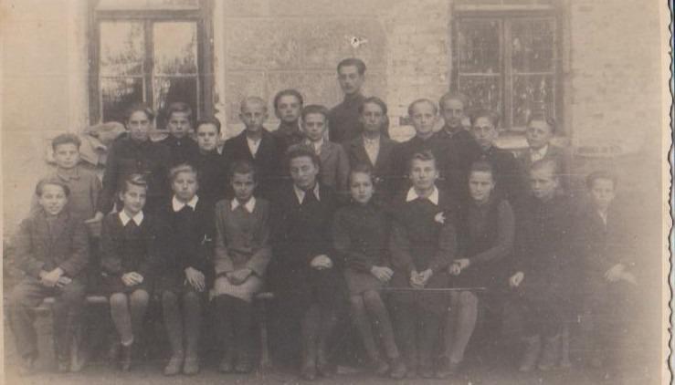 Vānes skolas izlaidums 1948