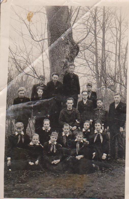 Vānes skolas izlaidums 1964