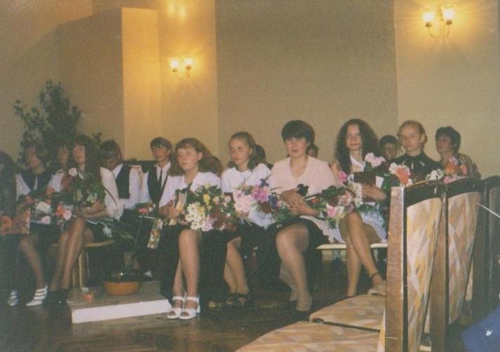 Vānes skolas izlaidums 1999