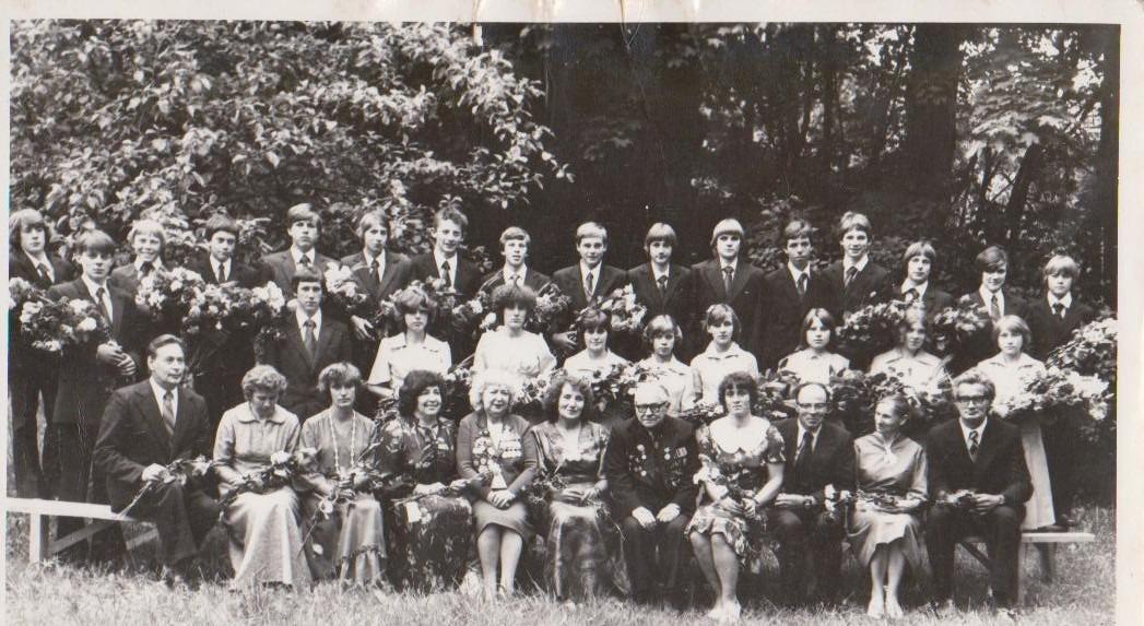 Vānes skolas izlaidums 1981