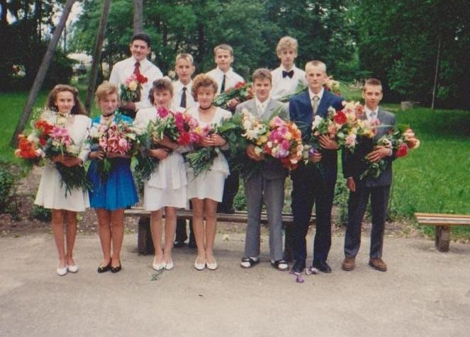 Vānes skolas izlaidums 1996