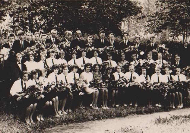 Vānes skolas izlaidums 1966