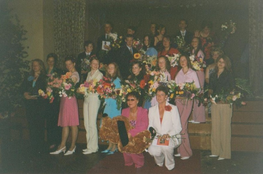 Vānes skolas izlaidums 2004
