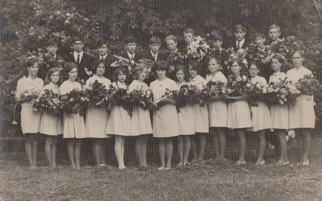 Vānes skolas izlaidums 1970