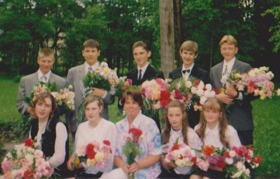 Vānes skolas izlaidums 1997