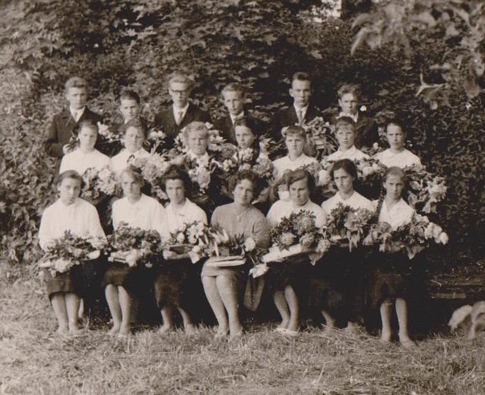 Vānes skolas izlaidums 1963