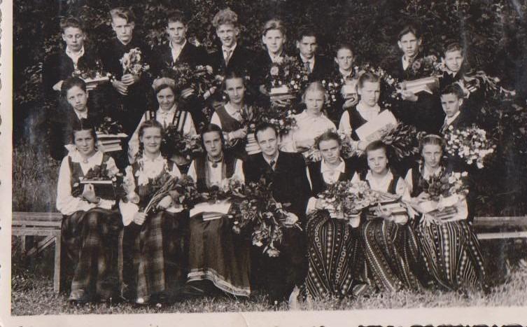 Vānes skolas izlaidums 1957
