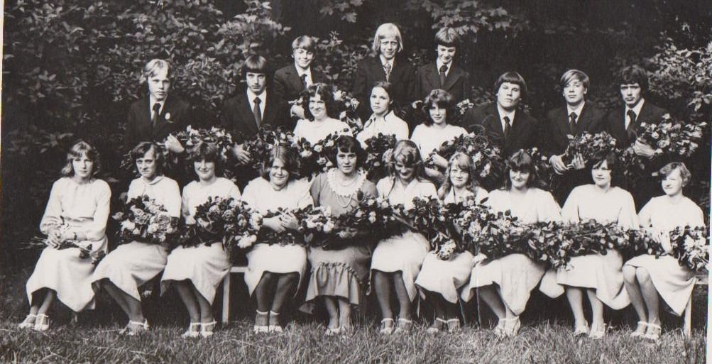 Vānes skolas izlaidums 1979
