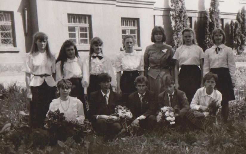 Vānes skolas izlaidums 1992