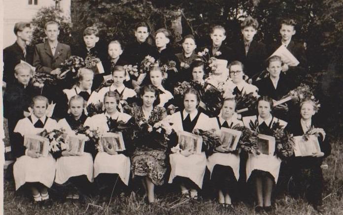 Vānes skolas izlaidums 1956