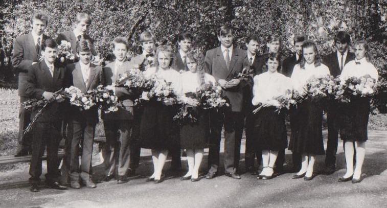 Vānes skolas izlaidums 1991