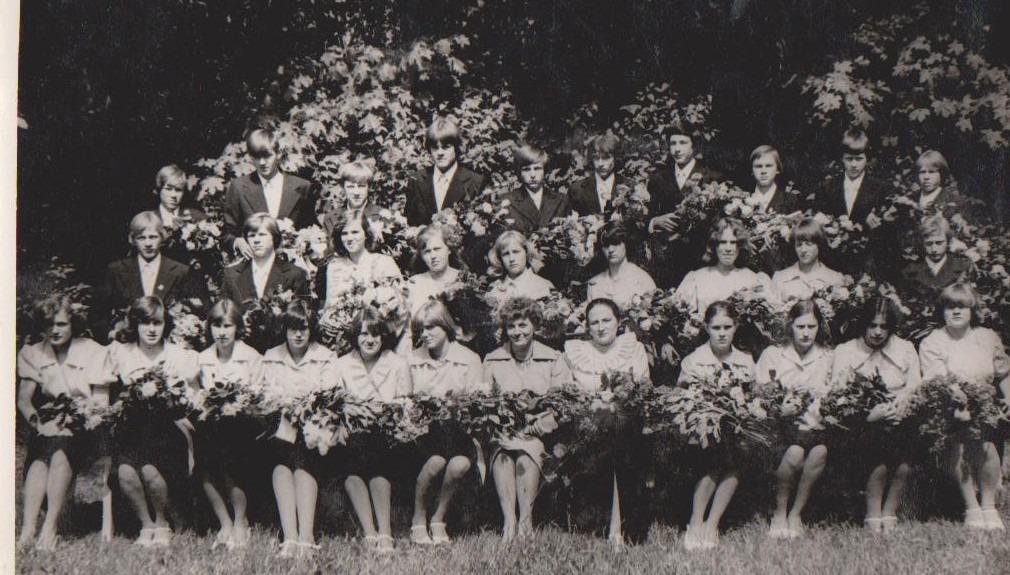 Vānes skolas izlaidums 1978