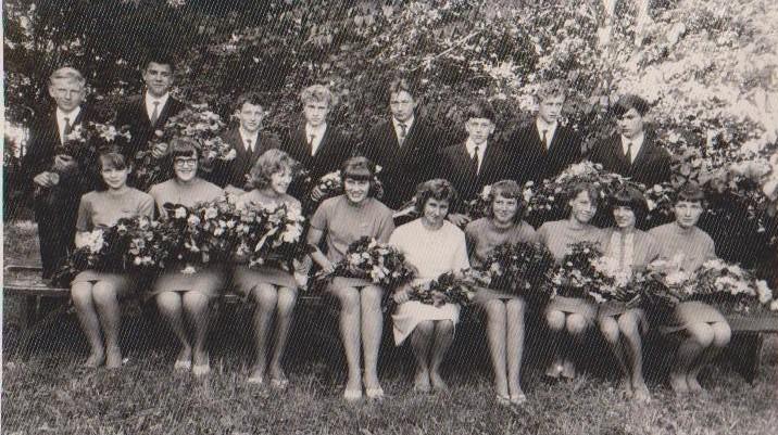 Vānes skolas izlaidums 1968