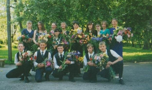 Vāne skolas izlaidums 2000