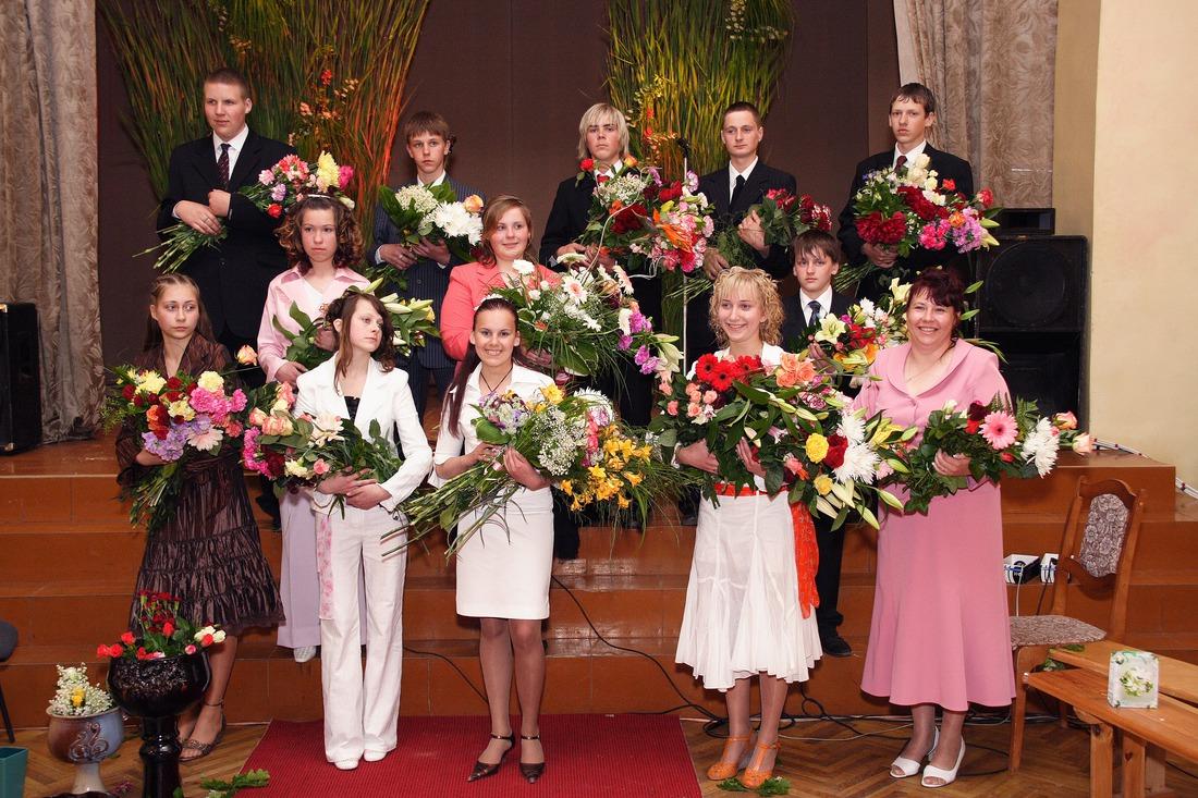 Vānes skolas izlaidums 2006